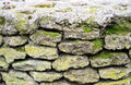 Old stone wall fragment of Stock Photography