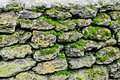 Old stone wall fragment of Stock Image