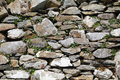Old stone wall, with ivy Royalty Free Stock Photo
