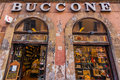 Old  storefront in Rome Italy Royalty Free Stock Photo