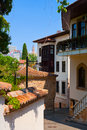 Old street in antalya turkey architecture background Stock Photography