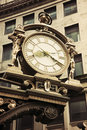 Old street clock in downtown Pittsburgh Stock Photos