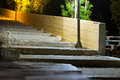 Old street concrete stairs, Bali, Crete Royalty Free Stock Photo