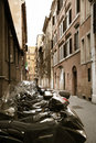 Old street in Rome, Italia Royalty Free Stock Photo