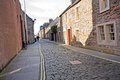 Old street in St Andrews, Scotland Royalty Free Stock Photo