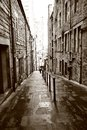 Old streets of edinburgh scotland Stock Photos