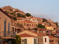 Old streets of Molyvos Royalty Free Stock Photo