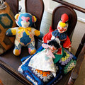 Old Chidrens Rag Dolls Royalty Free Stock Photo