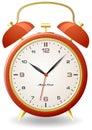 Old style alarm clock Stock Image