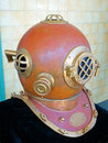 Old Style Diving Helmet Royalty Free Stock Photo