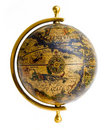 Old-style globe Royalty Free Stock Photo