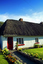 Old Style Irish Cottage Adare Co. Limerick Royalty Free Stock Image