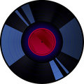 Old style retro record Royalty Free Stock Images