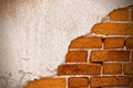 Old style wall s texture cement bricks Royalty Free Stock Photography