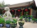 Old Summer Palace or Yuanming Yuan in Beijing city, China. Art, history and symbols Royalty Free Stock Photo