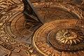 Old sundial Royalty Free Stock Photo