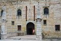 Old superior castle in Marostica, detail, Vicenza Royalty Free Stock Photo