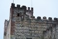 Old superior castle in Marostica, Vicenza Royalty Free Stock Photo