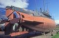 Old Swedish submarine Hajen