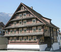 Old swiss house 17 Stock Photography