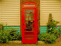 Old Telephone Box Stock Photography
