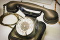 Old telephone nice close up Royalty Free Stock Image