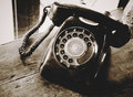 Old telephone vintage tone style Royalty Free Stock Image