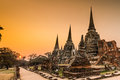 Old temple at wat phra si sanphet architecture ayutthaya thailand world heritage site Stock Photos