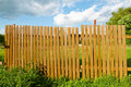 Old thrown fence Royalty Free Stock Photos
