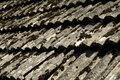 Old tile roof Stock Photos