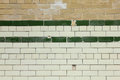 Old Tiled Brick Wall Background Royalty Free Stock Photo