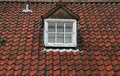 Old Tiled Roof Royalty Free Stock Photo
