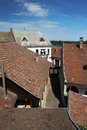 Old tiled roofs Royalty Free Stock Photo