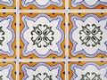 Old tiles Stock Photography
