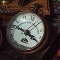 Old timekeeper found at a flee market vintage picture of an in berlin Stock Photo