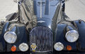 Old timer morgan car the motor company is a british motor manufacturer the company was founded in by henry frederick stanley Royalty Free Stock Image