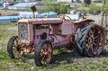 Old timer tractor rusty vintage Royalty Free Stock Photography
