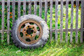 Old Tire Royalty Free Stock Photo