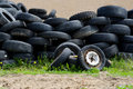 Old tires Royalty Free Stock Images