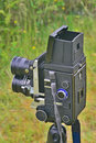 Old TLR camera Royalty Free Stock Photo