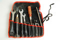 Old tool bag Royalty Free Stock Photography