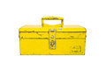 Old tool box isolate Royalty Free Stock Photo