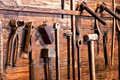 Old tools Royalty Free Stock Photo