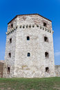 Old tower of Belgrade fortress Stock Photography