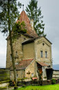 Old tower in sighisoara Stock Images