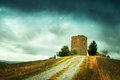 Old tower in Tuscany Royalty Free Stock Photo