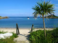 Old town beach, St. Mary's, Isles of Scilly. Royalty Free Stock Images