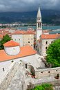 Old town in Budva Royalty Free Stock Photography