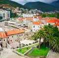 Old town in budva montenegro Royalty Free Stock Image