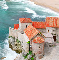Old town in budva montenegro Stock Photos